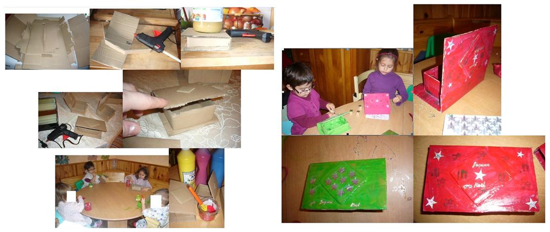 Boites en carton rapide et faciles - Comment faire une boite en carton facile ...
